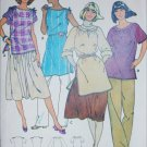 Butterick 6274 sewing pattern misses top with variations size small 8 to 10 UNCUT