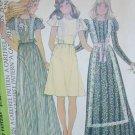 McCall 4344 sewing pattern vintage 1974 misses dress size 12 bust 34 UNCUT