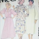 McCall 6359 sewing pattern loose fitting misses dress size 4 to 20 UNCUT