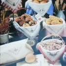 Leisure Arts Leaflet 389 Bread Cloths counted cross stitch patterns 9 designs