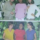 Simplicity 8421 sewing pattern misses blouses size 8 10 12 UNCUT stretch knits