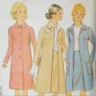 McCall 3093 vintage 1972 sewing pattern coat and skirt size 24 B36 UNCUT