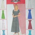 McCall 3129 sewing pattern princess seam dress 8 variatons sizes 12 14 16 UNCUT