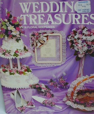 Artificial flower arranging Wedding Treasures 16 floral keepsakes craft booklet