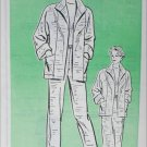 Sewing pattern 4190 mail in circa 1970s pants jacket sz S M L XL