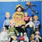 Dolls and Clothes on Parade craft book doll making patterns