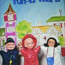 Puppet People 19 designs and patterns booklet craft doll making