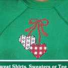 Small Counted cross stitch kit for sweat shirts sweaters tee shirts hearts