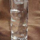 JG Durand crystal candlestick candle holder reverse hobnail glass depressions