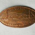 Rolled penny cent Chicago World's Fair 1934 Sky Ride souvenir
