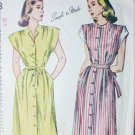Simplicity 1588 vintage 1945 sewing pattern maternity dress size 16 B34