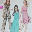 Simplicity 8788 vintage 1970 sewing pattern dress pants size 14 UNCUT