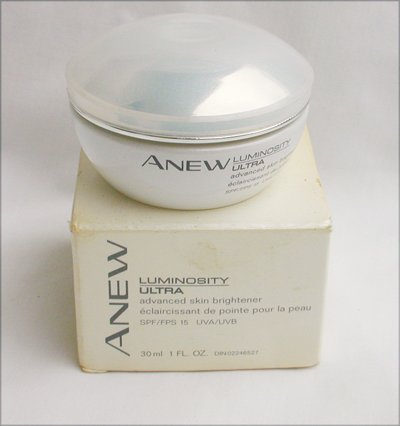 Avon Anew Luminosity Ultra skin brightener 30 ml 1 fl oz sealed new old stock