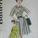 Butterick 2352 misses dress full skirt size 16 B36 circa 1960s vintage pattern