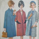 McCall 7027 misses coat size 16 B36 vintage 1963 sewing pattern