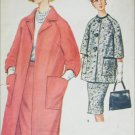 McCall 6196 coat and slim skirt misses size 16 B36 vintage 1961 sewing pattern