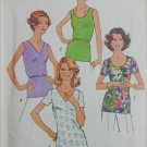 Simplicity 7911 misses sleeveless tank top T shirt sewing pattern sizes 40 and 42