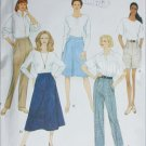 Simpliicity 9589 misses skirt pants shorts sizes 20 22 24 sewing pattern