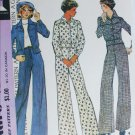 McCall 4148 misses jacket and pants size 12 B34 vintage retro 1974 sewing pattern