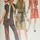 Simplicity 9170 misses dress tunic pants size 18 B40 retro 1970 sewing pattern