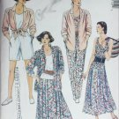 McCall 4811 misses skirt shirt top pants shorts sizes 22 24 sewing pattern