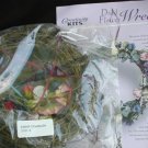 Creativity craft kit dried flower wreath sealed package
