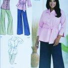 Simplicity 2636 pants skirt shirt Khaliah Ali sewing pattern UNCUT sizes 18W to 24W