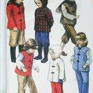 McCall 8246 child jacket vest pants knickers size 6 sewing pattern