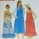 Butterick 5870 teen jumper size 9 10 vintage sewing pattern