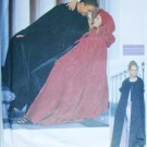 Simplicity 9452 ladies or mans cape or capelet sewing pattern Sizes S M L