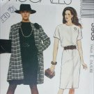 McCall 3968 misses jacket dress sizes 14 16 18 UNCUT sewing pattern