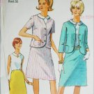 Simplicity 6549 misses suit size 18 B38 vinrtage 1966 sewing pattern