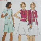Butterick 3080 misses size 18 B40 dress and jacket circa 1970 pattern