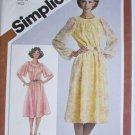 Simplicity 9866 misses dress size 14 B36 UNCUT vintage 1980 pattern