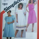 Simplicity 5921 muu muu style pullover dress pattern sizes 10 12 14 UNCUT