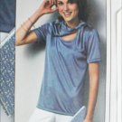 Simplicity 8535 misses blouse and scarf sizes 14 16 18 pattern stretch knits UNCUT