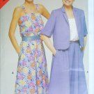 Butterick 5288 misses summer dress jacket sizes 12 14 16 UNCUT pattern