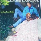 American School of Needlework 1105 Crochet Afghans 5 craft patterns