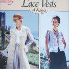 American School of Needlework Crochet Lace Vest number 1174 4 designs craft booklet