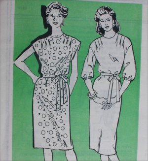 Mail in sewing pattern 4079 misses dress sizes 10 12 14 UNCUT