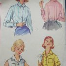 Simplicity 2470 misses blouse size 16 bust 36 vintage 1958 sewing pattern