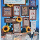 Cross stitch booklet Alma Lynne Country Button Samplers patterns