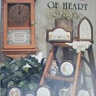 Cross stitch booklet Touch of Heart from Stoney Creek 51 with 23 patterns