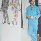 Simplicity 9125 man's pajama sewing patternsize medium 39 to 40