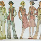 McCall 4224 vintage 1974 pattern size 18 bust 40 blouse vest skirt pants