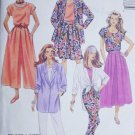 McCall 5873 split skirt pants jacket size 12 14 UNCUT pattern