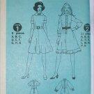 Simplicity 9849 misses dress pattern retro 1971 size 18 UNCUT