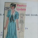 Mail in sewing pattern 5592 misses dress size 10 12 14 UNCUT bottom flare V neck