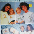 Mom and Company book 2 Iron on Transfers for embroidery bears dionaurs