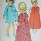 Simplicity 7375 toddler child robe & nightgown pattern size 1